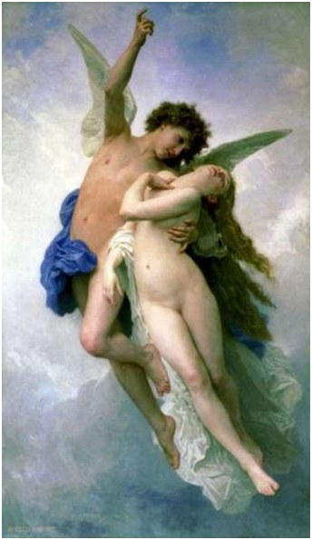 Eros Rescues Psyche
